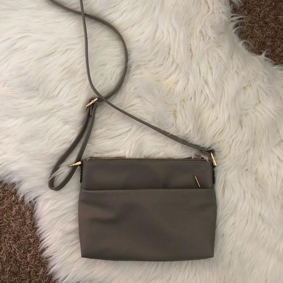0d5b3317f6fbc a new day Handbags - Gray Crossbody Purse from Target